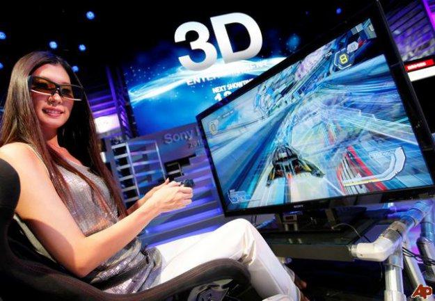 3D obraz bez brýlí