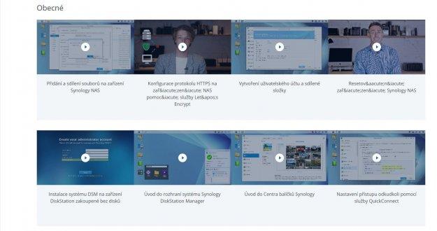 Digitální domácnost - Synology Disk Station Manager