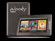 Wooky tablet reader