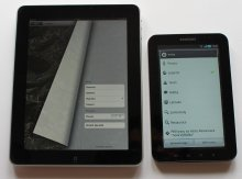iPad versus Galaxy Tab