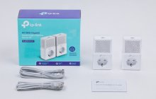 TP Link AV1000 Gigabit Passtrough Powerline Starter Kit